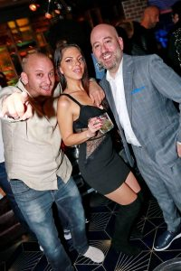Brian Kip with Bryan Bass and Madelyn Fuller Las Vegas